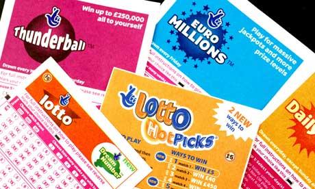 Manifest winning lottery ticket
